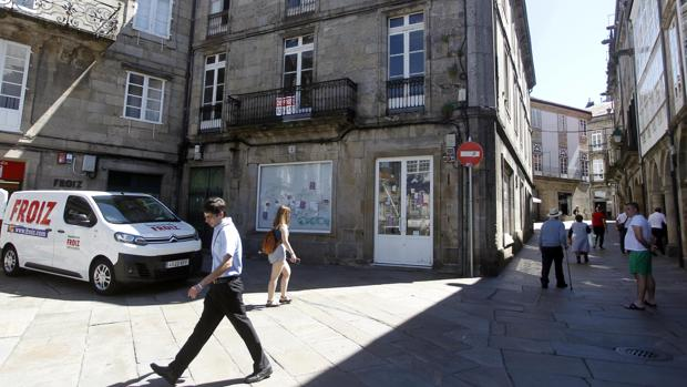Vivienda en venta en el casco histórico compostelano