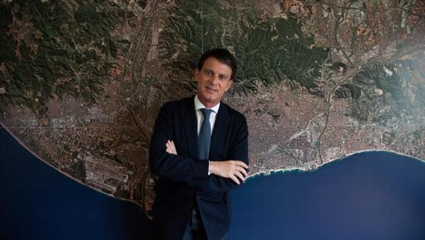 Valls se presenta con la plataforma Barcelona pel Canvi-Ciutadans