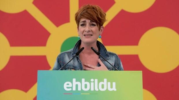 Bakartxo Ruiz en un acto de campaña