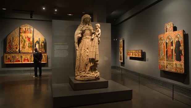 Museo de Lérida, donde la Diócesis ilerdense tiene las 111 piezas de arte sacro reclamadas por Aragón