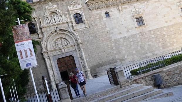 Fachada del Museo de Santa Cruz en Toledo