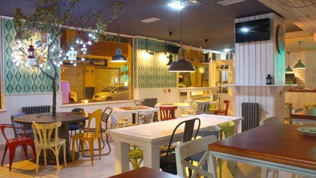 Interior del restaurante Zielo