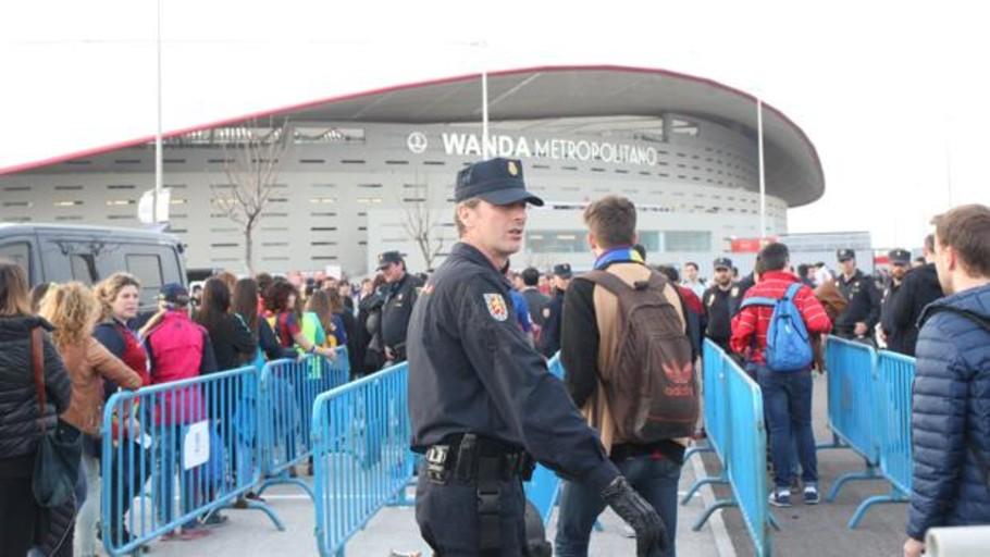 La Champions repetirá el despliegue policial de la Copa Libertadores, el mayor de la historia