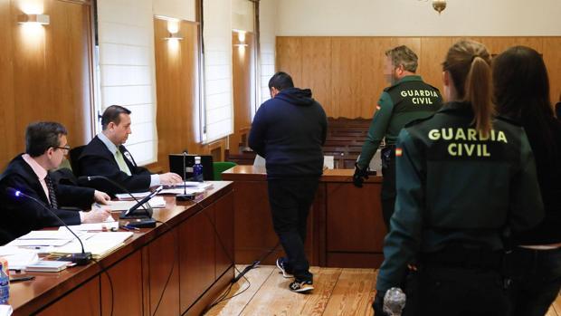 Los acusados a su llegada a una de las trece sesiones en las que se ha prolongado el juicio
