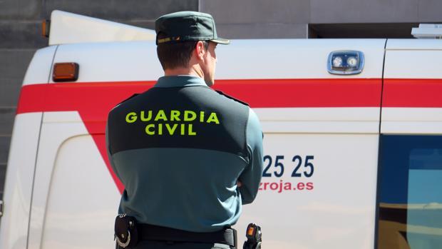 Imagen de archivo de la Guardia Civil en Alicante