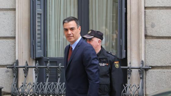Pedro Sánchez llega al Congreso de los Diputados
