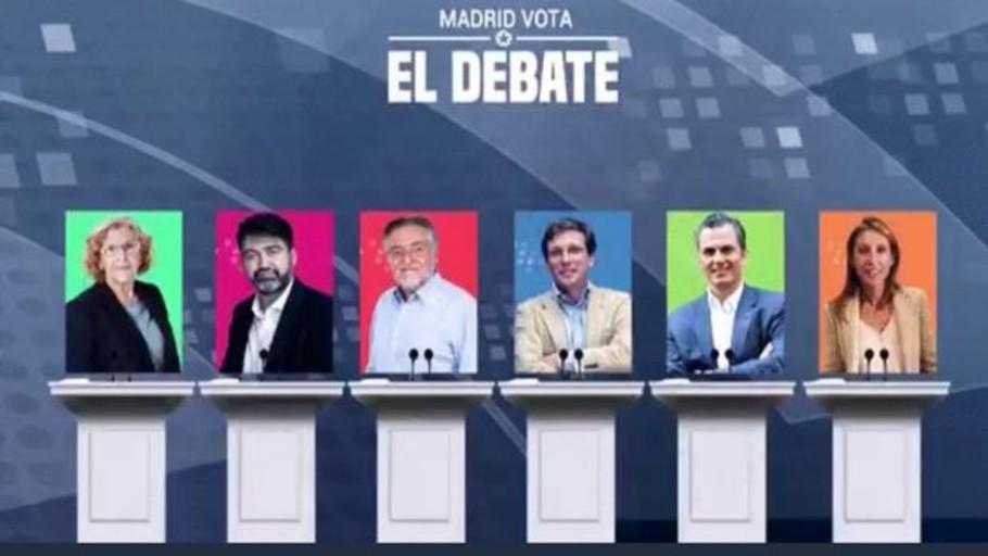 El debate electoral de Madrid, en directo