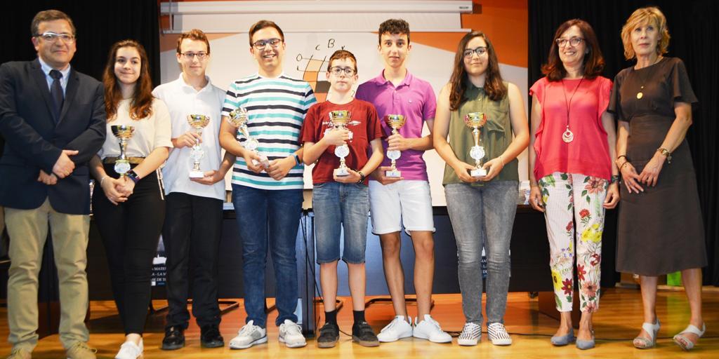 Entregados los premios de la Olimpiada Provincial de Matemáticas