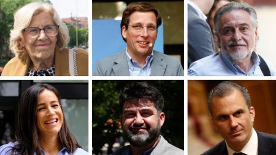 Sigue en vídeo el debate entre los candidatos a la alcaldía de Madrid