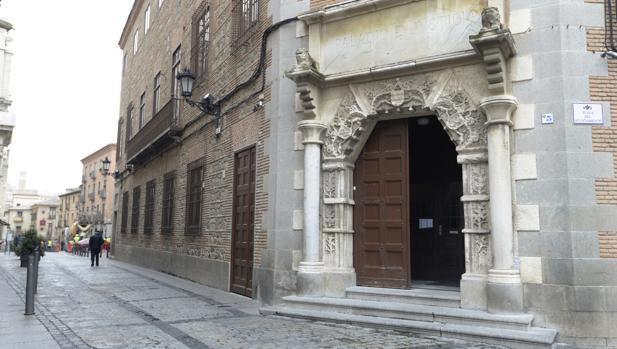 Entrada a la Audiencia Provincial de Toledo, donde se ha celebrado el juicio