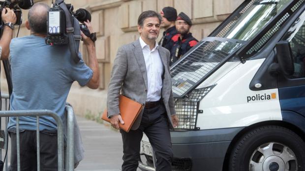 El expolítico Oriol Pujol, el año pasado ante la Audiencia de Barcelona