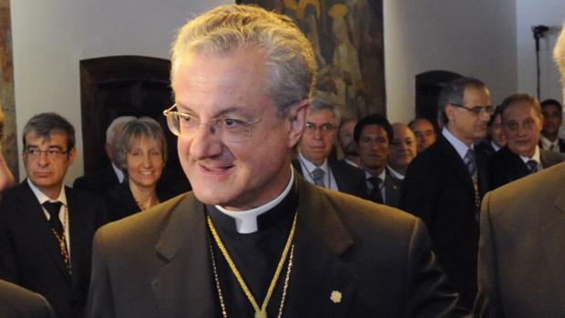 Enric Vives en un acto en 2010