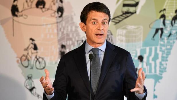 El alcaldable Manuel Valls