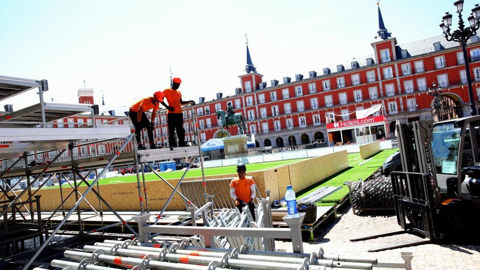 Madrid se prepara para ser la capital del fútbol y embolsarse 62,5 millones