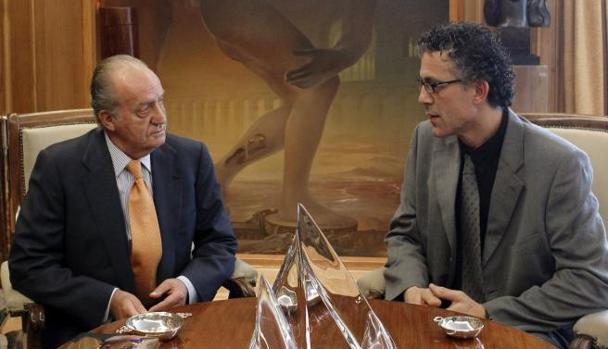 A Don Juan Carlos le tocó recibir a defensores de ETA