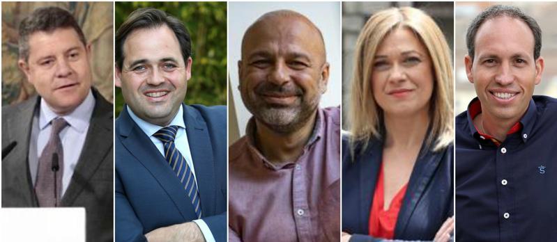Candidatos a la Presidencia de la Junta de Comunidades de Castilla-La Mancha