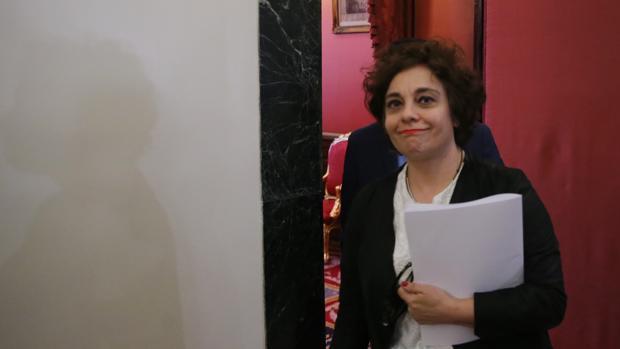 Gloria Elizo, miembro de la Mesa del Congreso
