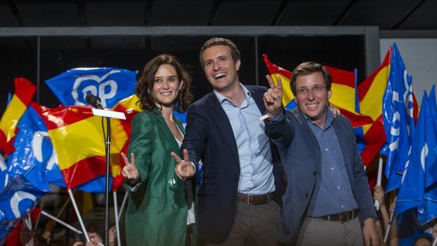 Elecciones Madrid 2019, el PP celebra el resultado de las elecciones
