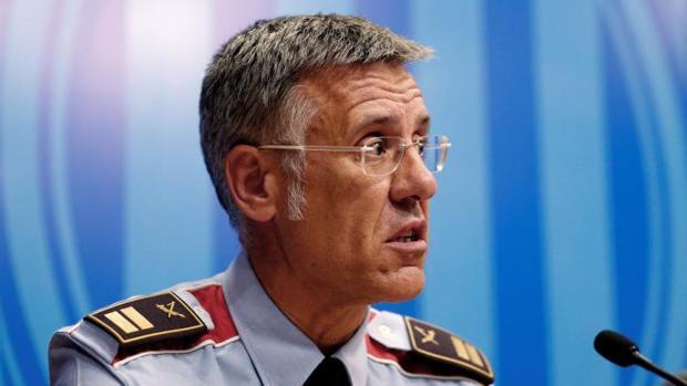 Miquel Esquius, hasta ayer, jefe de los Mossos d'Esquadra