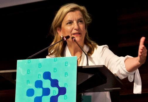 Maria Parga, Presidenta de Alastria, en la Clausura del Foro Blockchain 2019