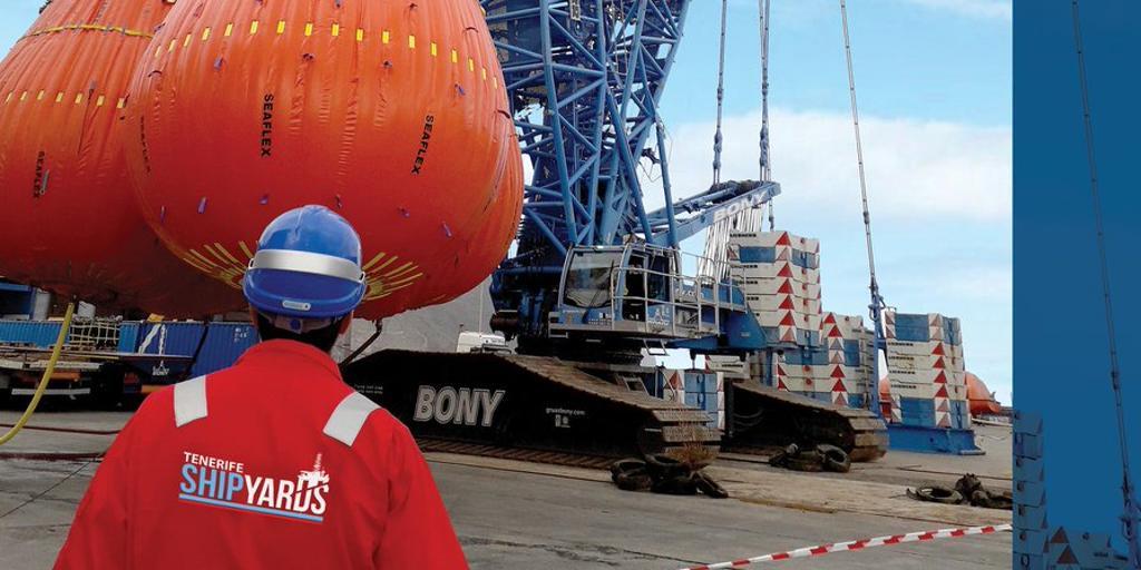 Aberdeen: la conexión aérea clave en Canarias para las reparaciones de plataformas petrolíferas
