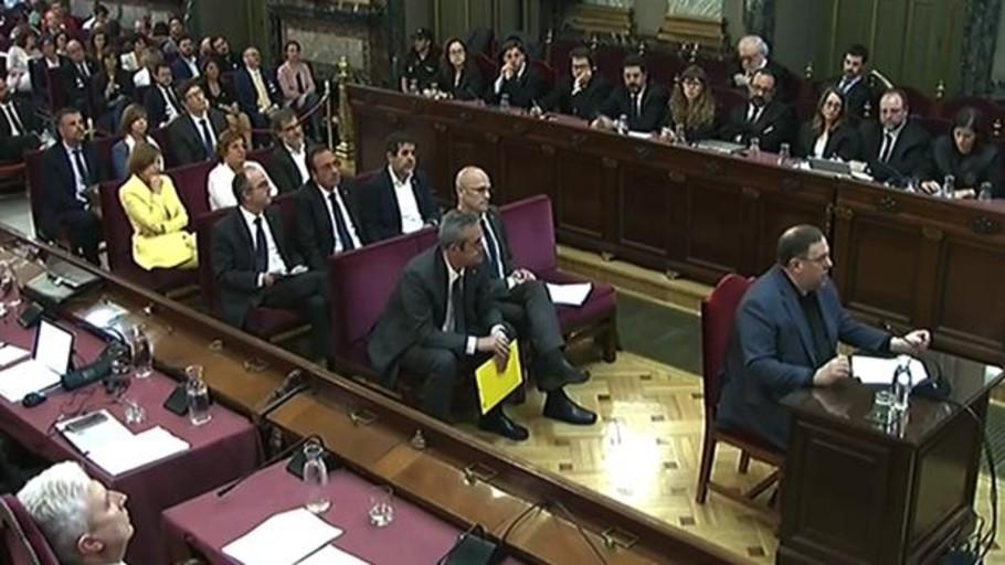 Las diez escenas de un juicio histórico