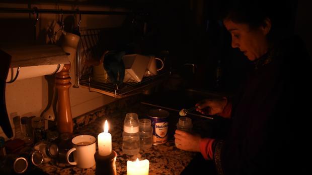 Resultado de imagen para apagon en argentina