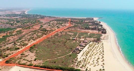 Superficie de operaciones en Senegal