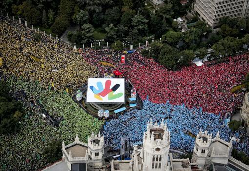 Puesta en escena de la candidatura de Madrid 2016