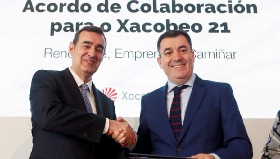 Caixabank y la Xunta acuerdan una línea de financiación de 1.000 millones de cara al Xacobeo 2021