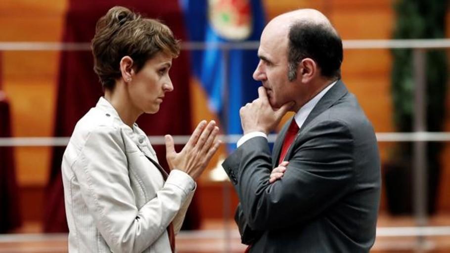 Concluyen sin acuerdo las negociaciones entre PSN y los nacionalistas en el Parlamento de Navarra