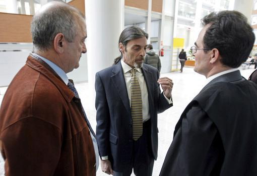 Imagen de Fernando García y Juan Ignacio Blanco tomada en Valencia en 2009