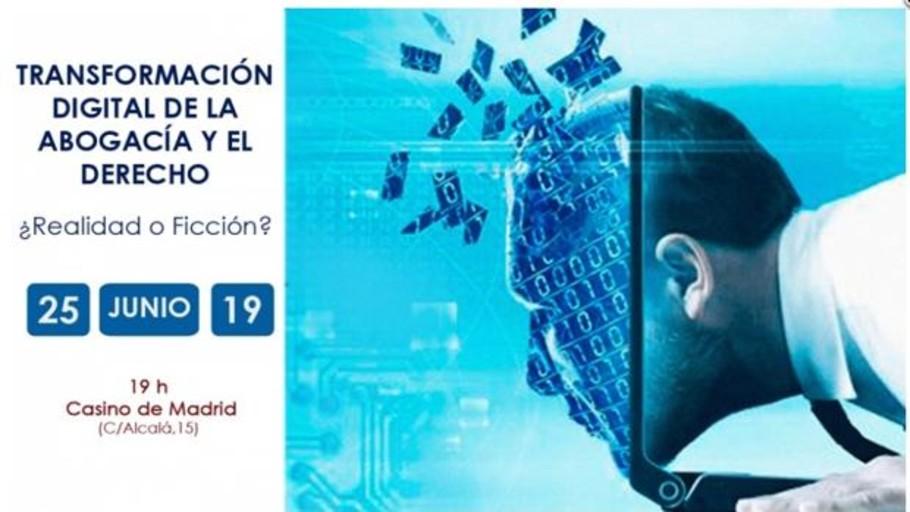 El Casino de Madrid acoge una charla de ICADE sobre la transformación digital del Derecho