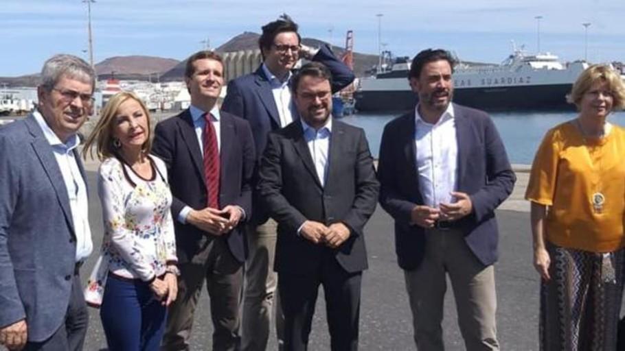 Los «sorayistas» del PP de Canarias inician una guerra de poder sin gobierno
