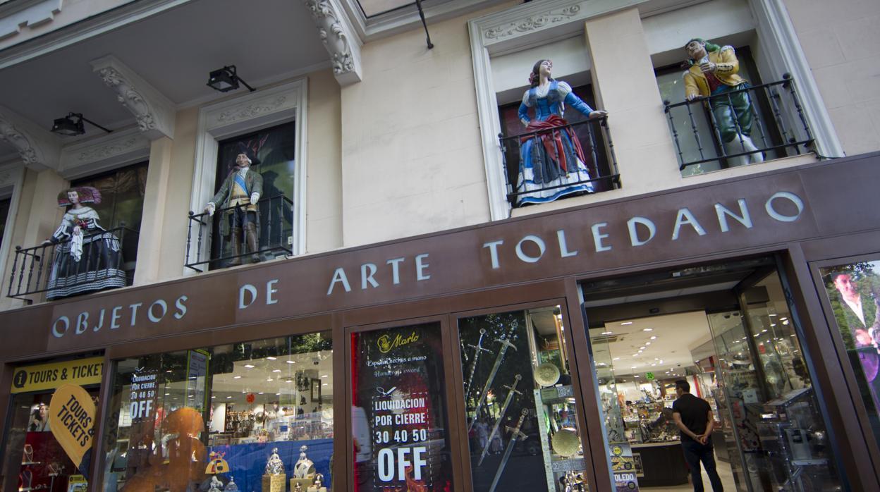 Adiós a la tienda de arte toledano: la última mirada de las
