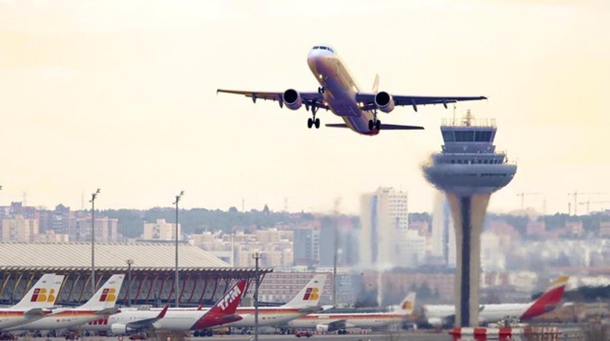 Image result for Aeropuerto Barajas aviones