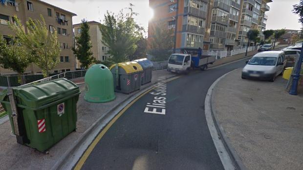 Muere una anciana atropellada por un camión de la basura en Rentería (Guipúzcoa)