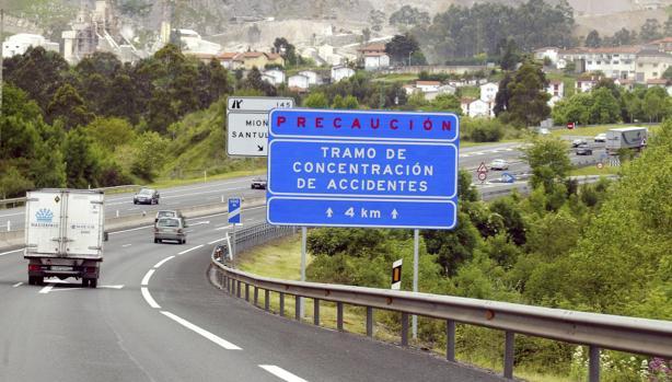 Muere un hombre tras ser atropellado por varios vehículos en una autopista de Vizcaya