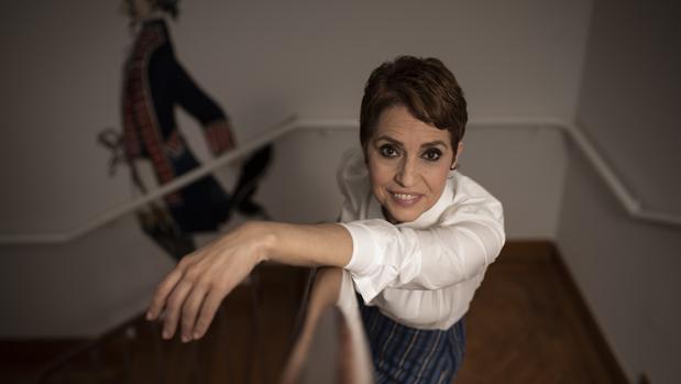 Adriana Ozores: «Cuando hablo de Toledo pienso en la amistad. Eso es maravilloso»