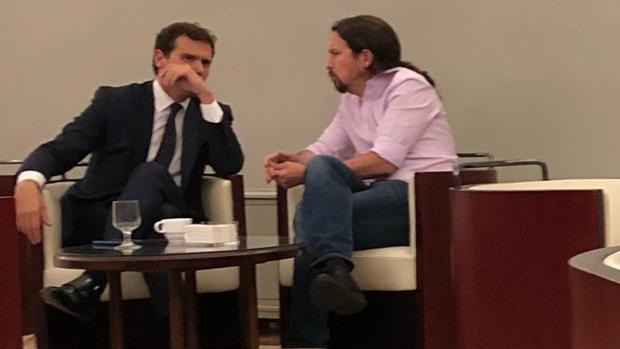 Batet no tomará medidas contra Puente por difundir la polémica foto de Iglesias y Rivera