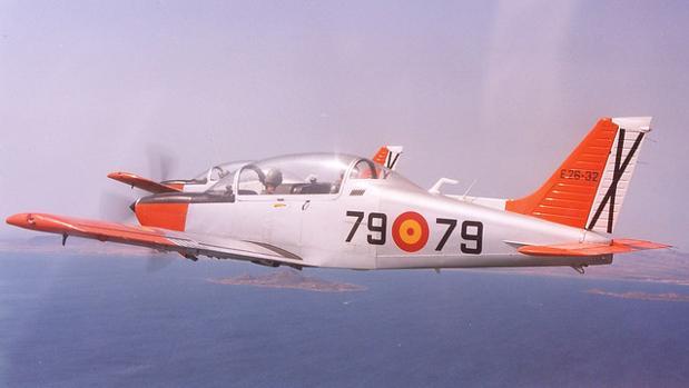 El Ejército planea retirar el modelo de avión estrellado en el Mar Menor en 2030