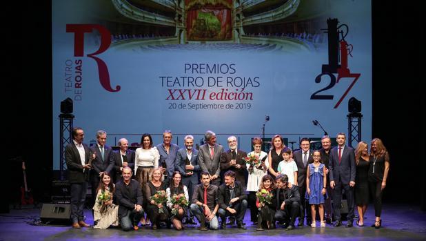 Premios Teatro de Rojas: una gala con sonrisas y mucha música