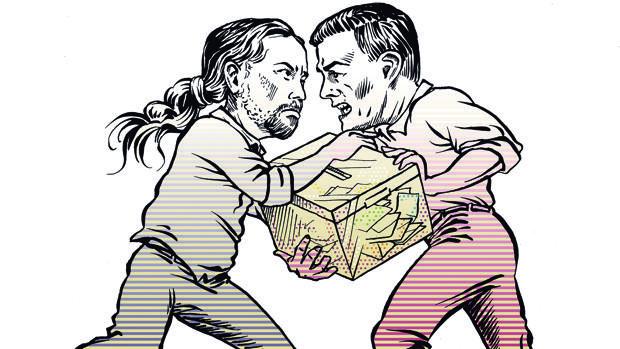 La guerra total entre Iglesias y Sánchez marca el camino al 10-N