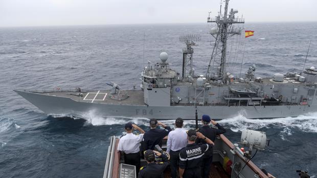 La Armada exhibe fuerza con la Alianza Atlántica en el Estrecho