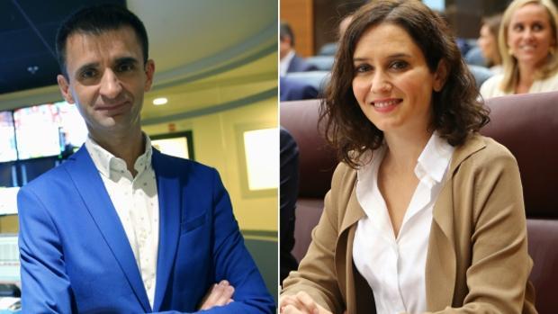 Ayuso abronca por carta al director de Telemadrid por mofas «lamentables» sobre la Infanta Elena