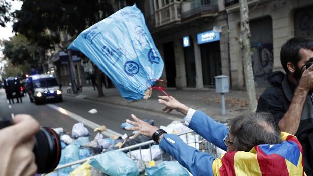 El secesionismo, ante el dilema de mantener el caos en la calle