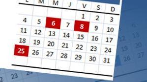 Este es el calendario laboral de 2017 de cada comunidad
