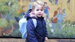 Jorge de Inglaterra ya va a la guardería
