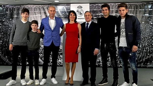 Ver 243 Nica Zidane 171 La Primera Dama 187 Del Real Madrid