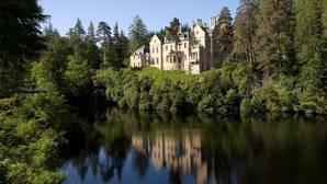 Eilean Aigas,una mansión levantada en 1839 en una isla privada de un meandro del río Beauly